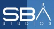 SBA Studios logo