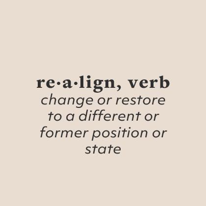Realign Community logo